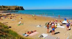 Отдых в Песчаном Крым недорогой эконом отдых с питанием