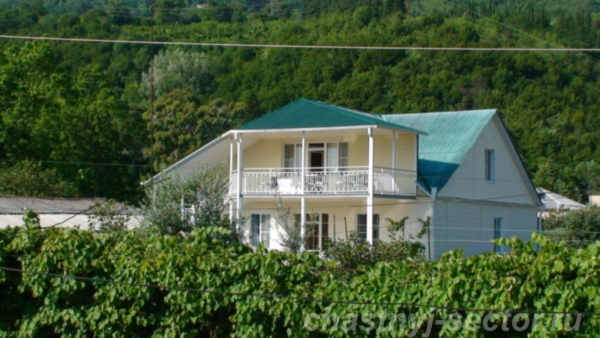 Гостевой дом Домик в Гаграх +79407111761