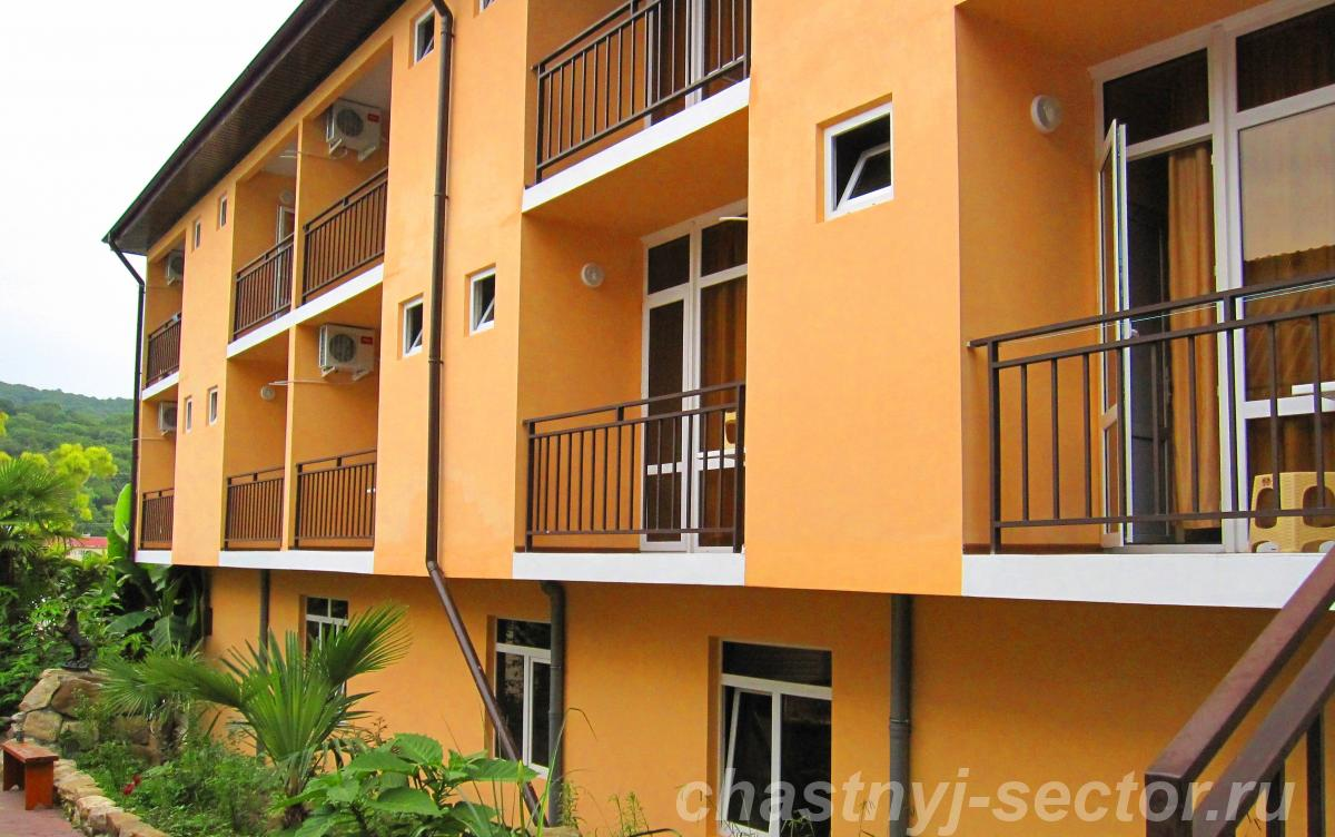Отдых на Черном море гостиница в Лоо сдает номера люкс +79182047658