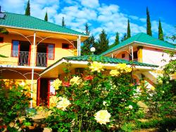 Алушта дом отдыха возле моря снять номер пансионат Канака