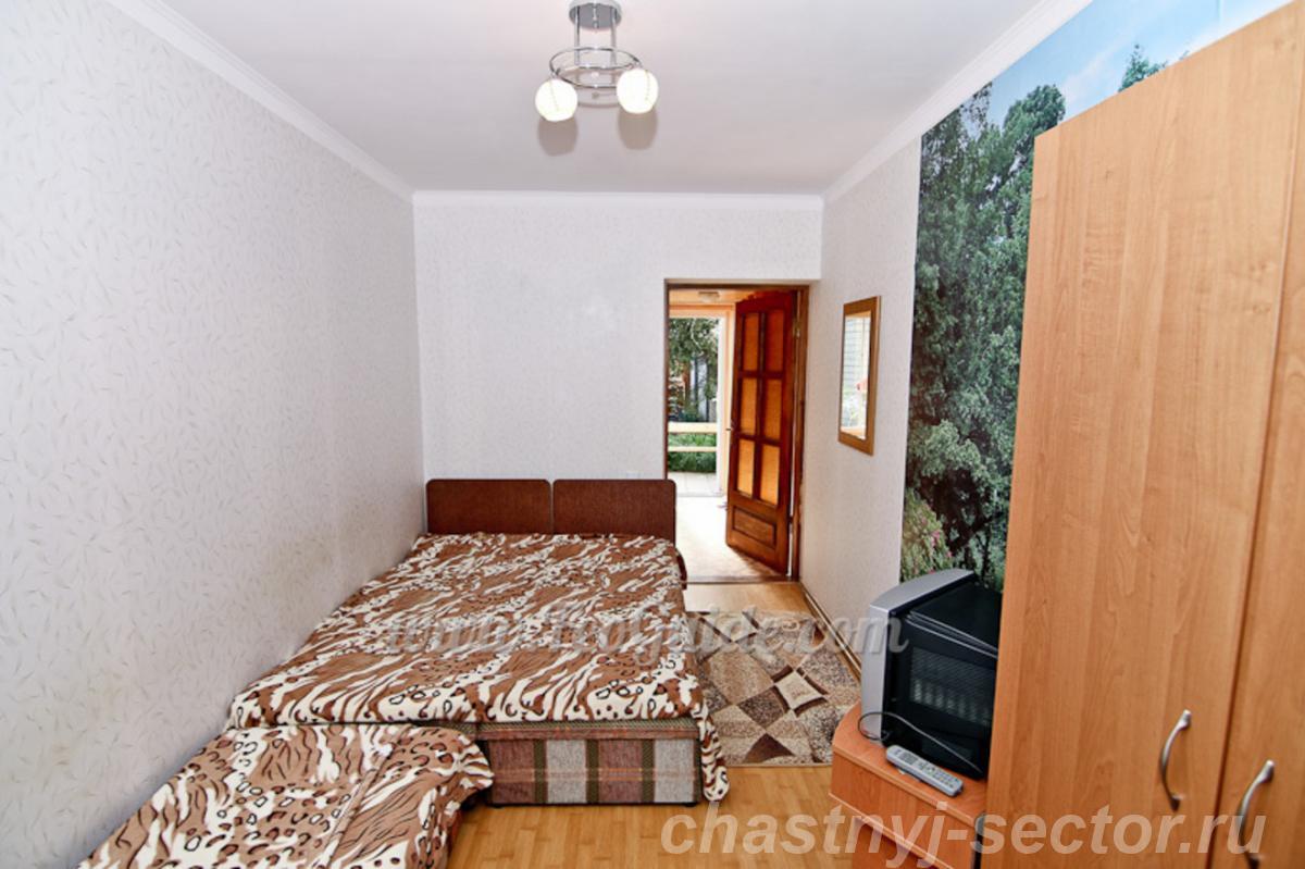 Двухкомнатный домик в районе пляжа Жемчужный +79787433813